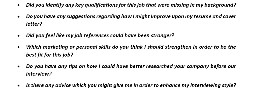 letter to hr questions