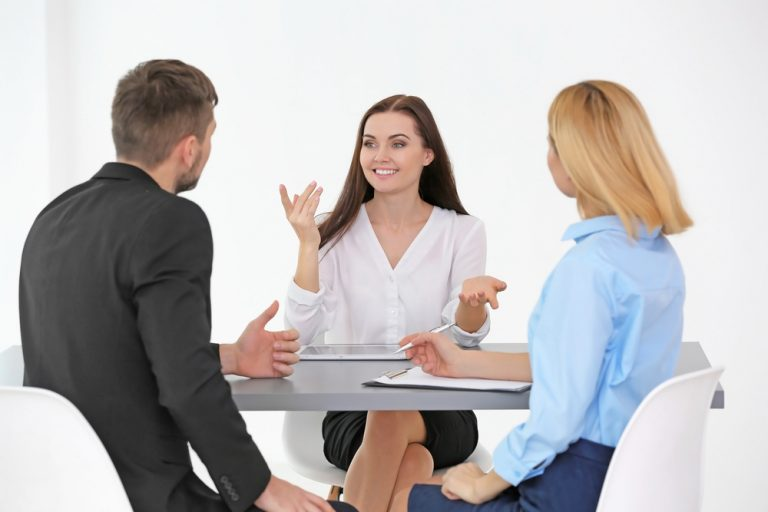success in a job interview