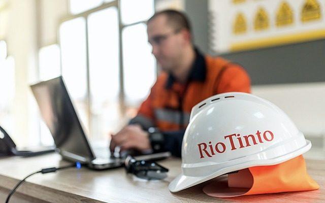 Rio Tinto office jobs