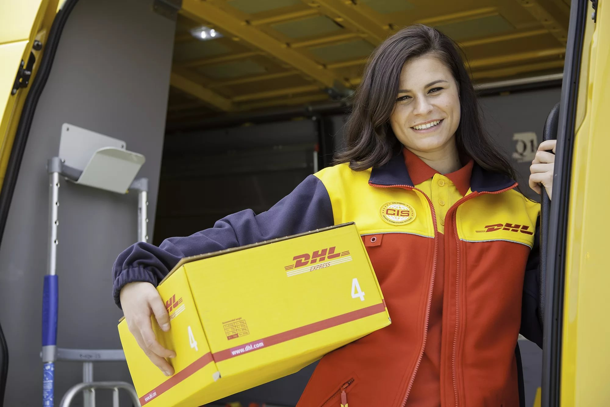 working in DHL