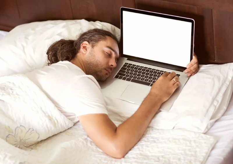 sleeping right