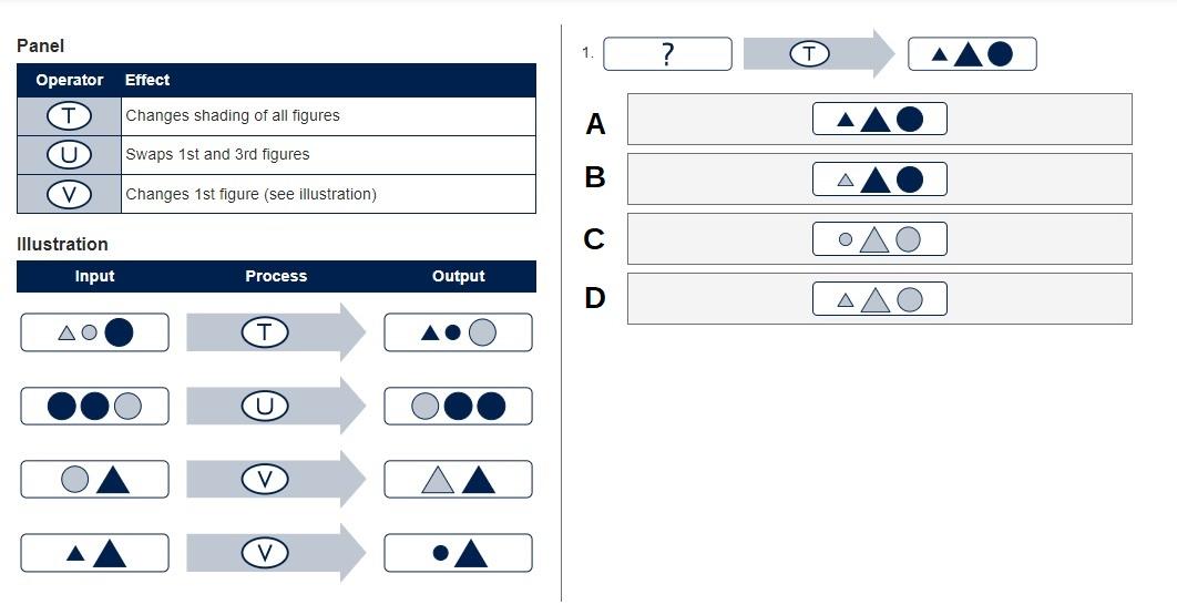 Diagrammatic reasoning tests 2